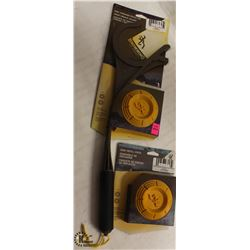 BROWNING DISC THROWING FETCH TOYS COMES WITH