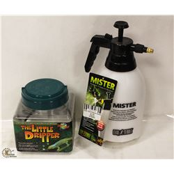 MISTER PORTABLE PRESSURE SPRAYER AND LITTLE