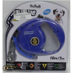 AVENUE RETRACTABLE 16FT LEASH FOR MEDIUM DOGS