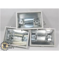 BOX OF HALOGEN LIGHT FIXTURES