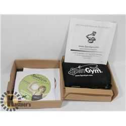 NEW FORBES RILEY SPINGYM DVD EXERCISE SYSTEM