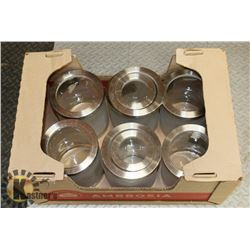 BOX OF LARGE PANTRY JARS