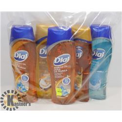 BAG OF DIAL BODY WASH