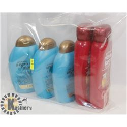 BAG OF SHAMPOO AND CONDITIONER