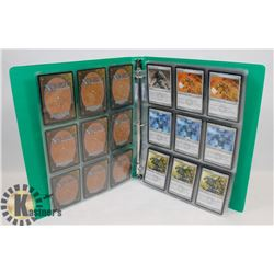 COLLECTION OF 100 PLUS MAGIC THE GATHERING CARDS