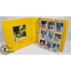 HOCKEY CARD COLLECTION IN BINDER
