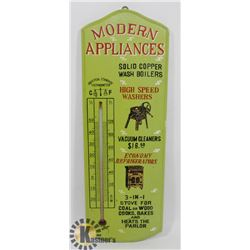 ANTIQUE LOOK WOODEN THERMOMETER