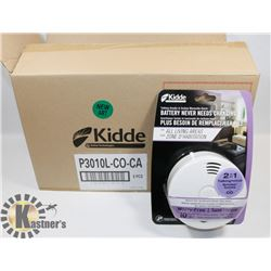 CASE OF 6 NEW KIDDE CARBON MONOXIDE/SMOKE ALARMS