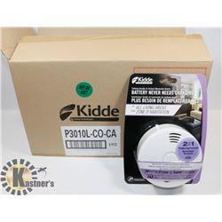 CASE OF 6 NEW KIDDE CARBON MONOXIDE/SMOKE ALARMS