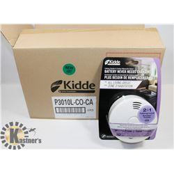 CASE OF 6 NEW KIDDE CARBON MONOXIDE / SMOKE ALARMS