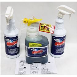 BOTTLE OF 1.5L WINDEX SUPER CONCENTRATE GLASS