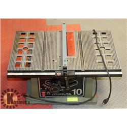 """DELTA 10"""" TABLE SAW,."""