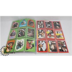 1986 LITTLE SHOP OF HORRORS CARD SET.