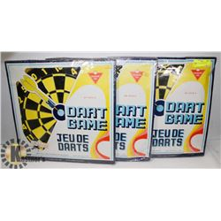 LOT OF 3 NEW DART BOARDS