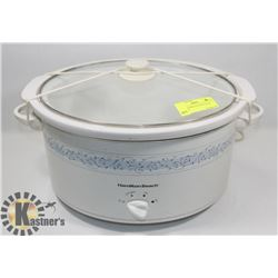 LARGE HAMILTON BEACH SLOW COOKER