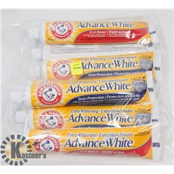 BAG OF ARM & HAMMER TOOTHPASTE