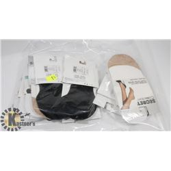 BAG OF WOMENS FOOT COVERS