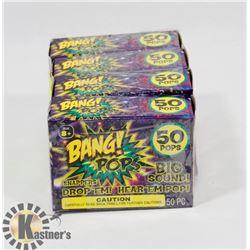 4 NEW BOX'S OF BANG! POPS / 50 PER