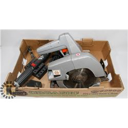 "BLACK & DECKER CIRCULAR SAW 7-1/4"" ELECTRIC AND"