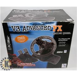 V3 ADVANCED FX RACING WHEEL NEW IN BOX.