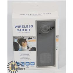 NEW WIRELESS CAR KIT-CALL/SIRI/MUSIC