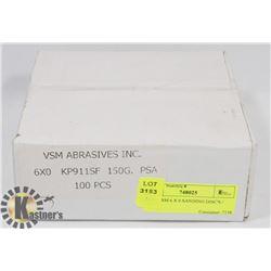 NEW VSM 6 X 0 SANDING DISC'S / 100PC