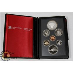 CANADIAN 1982 PROOF SET IN LEATHER CASE