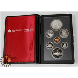 CANADIAN 1983 PROOF SET IN LEATHER CASE