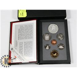 CANADIAN 1993 PROOF SET IN LEATHER CASE WITH