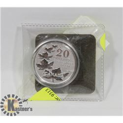 """2011 $20 SILVER CANADIAN COIN """"FAREWELL TO PENNY"""""""