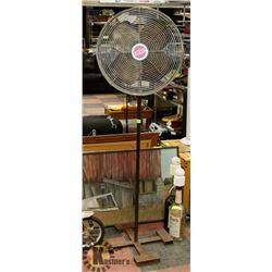 CUSTOM HEAVY DUTY SHOP FAN 1/3 HP - WORKS.