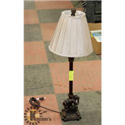 VINTAGE MONKEY LAMP.