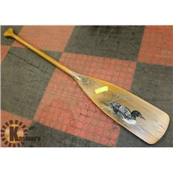 FOLK ART WOODEN OAR