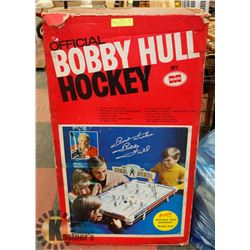 VINTAGE 1960S BOBBY HULL ROD HOCKEY GAME INCL