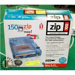 ZIP 100 PORTABLE USB DRIVE FOR WINDOWS 95