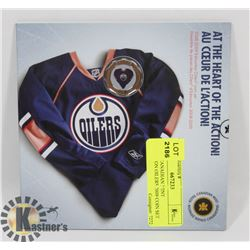 ROYAL CANADIAN MINT EDMONTON OILERS 2009 COIN SET