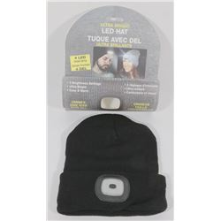 NEW ULTRA BRIGHT LED HEADLIGHT TOQUE (BLACK)