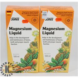 TWO SALUS MAGNESIUM LIQUID VEGETARIAN LIQUID