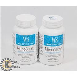 TWO WOMENSENSE MENO SENSE MENOPAUSE FORMULA