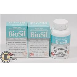 THREE BIOSIL HAIR, SKIN, NAILS NON GMO