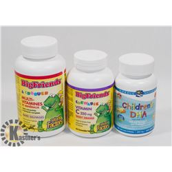 BUNDLE OF CHILDRENS SUPPLEMENTS