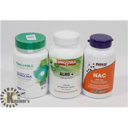 SANGSTERS ALRG+ 90 CAPSULES EXP NOV/21 SOLD WITH
