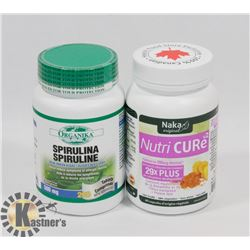 NAKA ORIGINAL NUTRI CURE 60 VEGGIE CAPS SOLD WITH