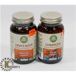 PURICA LIONS MANE MICRONIZED MUSHROOMS 60 CAPS