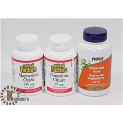 NATURAL FACTORS MAGNESIUM OXIDE 90 CAPLETS EXP