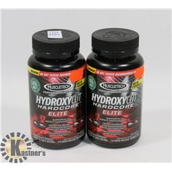 TWO MUSCLE TECH PERFORMANCE HYDROXYCUT