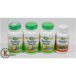 THREE NATURES WAY DANDELION 100 CAPSULES EACH