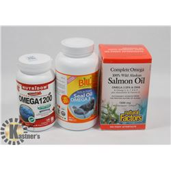 BILL NATURAL SOURCES SEAL OIL OMEGA 3 300