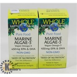 WHOLE EARTH AND SEA PURE FOOD MARINE ALGAE-3 VEGAN