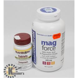 PRAIRIE NATURALS MAG FORCE WITH MALIC ACID EXP MAY